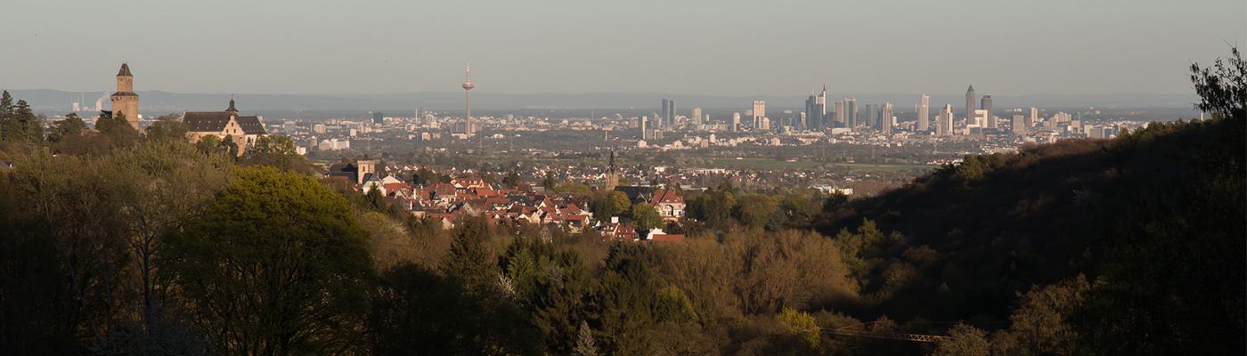 Malerblick – Kronberg im Taunus